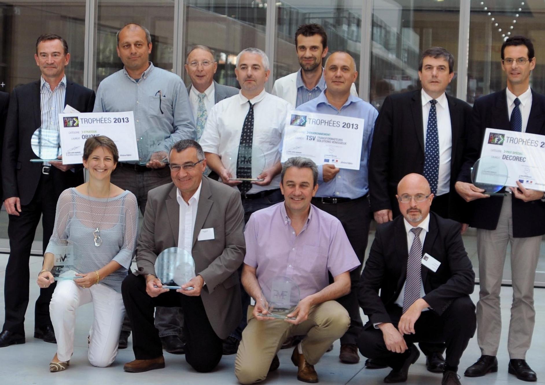 Trophées Plan PME Environnement
